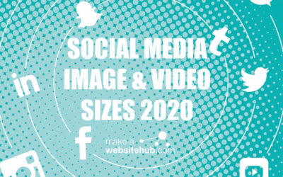 Handig! social media image sizes 2020 overview